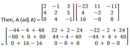 RD Sharma Solutions for Class 12 Maths Chapter 7 Adjoint and Inverse of a Matrix Image 31