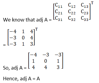 RD Sharma Solutions for Class 12 Maths Chapter 7 Adjoint and Inverse of a Matrix Image 42