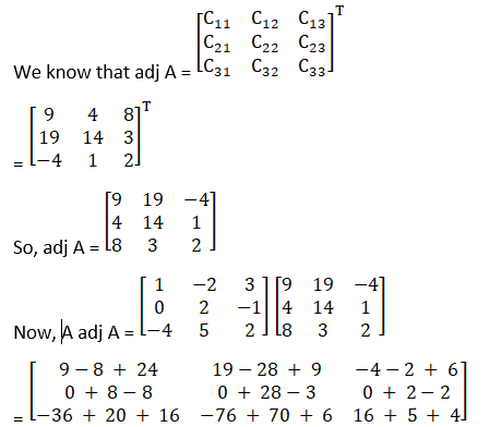 RD Sharma Solutions for Class 12 Maths Chapter 7 Adjoint and Inverse of a Matrix Image 48