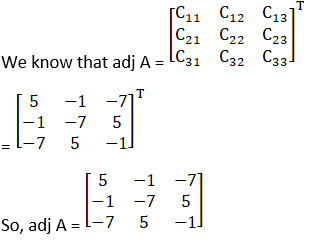 RD Sharma Solutions for Class 12 Maths Chapter 7 Adjoint and Inverse of a Matrix Image 68