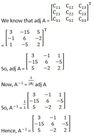 RD Sharma Solutions for Class 12 Maths Chapter 7 Adjoint and Inverse of a Matrix Image 76