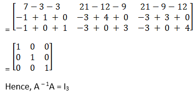 RD Sharma Solutions for Class 12 Maths Chapter 7 Adjoint and Inverse of a Matrix Image 88