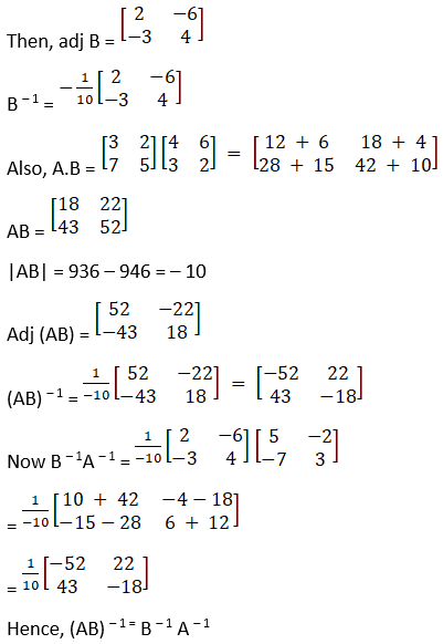 RD Sharma Solutions for Class 12 Maths Chapter 7 Adjoint and Inverse of a Matrix Image 95