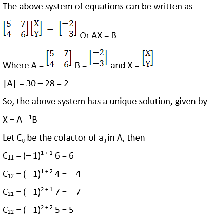 RD Sharma Solutions for Class 12 Maths Chapter 8 Solutions of Simultaneous Linear Equations Image 1