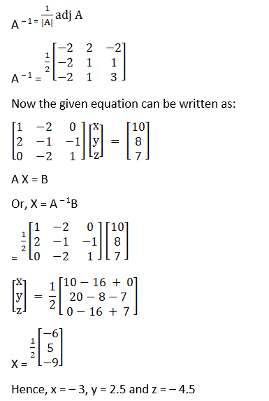 RD Sharma Solutions for Class 12 Maths Chapter 8 Solutions of Simultaneous Linear Equations Image 105