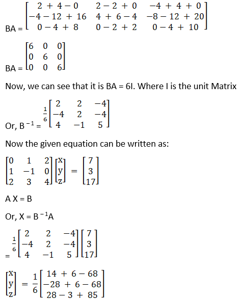 RD Sharma Solutions for Class 12 Maths Chapter 8 Solutions of Simultaneous Linear Equations Image 108