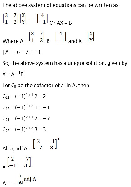RD Sharma Solutions for Class 12 Maths Chapter 8 Solutions of Simultaneous Linear Equations Image 11