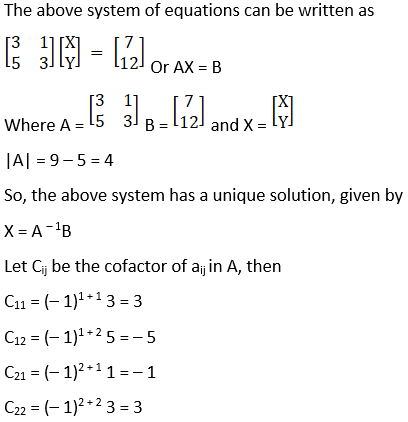 RD Sharma Solutions for Class 12 Maths Chapter 8 Solutions of Simultaneous Linear Equations Image 13