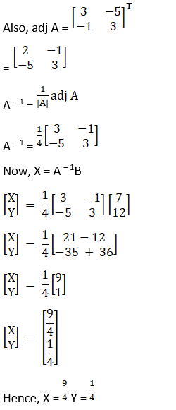 RD Sharma Solutions for Class 12 Maths Chapter 8 Solutions of Simultaneous Linear Equations Image 14