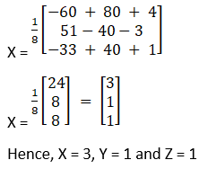 RD Sharma Solutions for Class 12 Maths Chapter 8 Solutions of Simultaneous Linear Equations Image 17