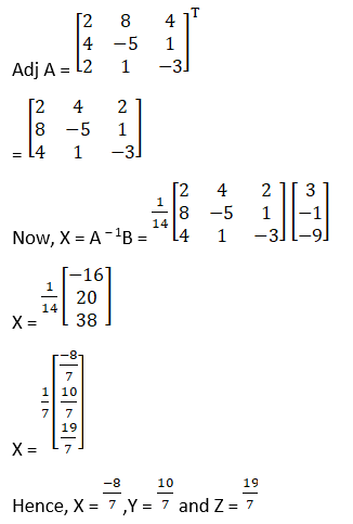 RD Sharma Solutions for Class 12 Maths Chapter 8 Solutions of Simultaneous Linear Equations Image 19