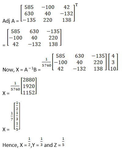 RD Sharma Solutions for Class 12 Maths Chapter 8 Solutions of Simultaneous Linear Equations Image 21