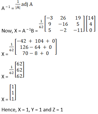 RD Sharma Solutions for Class 12 Maths Chapter 8 Solutions of Simultaneous Linear Equations Image 24