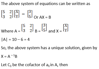 RD Sharma Solutions for Class 12 Maths Chapter 8 Solutions of Simultaneous Linear Equations Image 3