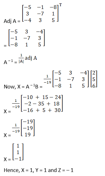 RD Sharma Solutions for Class 12 Maths Chapter 8 Solutions of Simultaneous Linear Equations Image 31