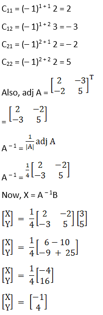 RD Sharma Solutions for Class 12 Maths Chapter 8 Solutions of Simultaneous Linear Equations Image 4