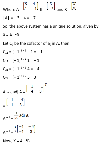 RD Sharma Solutions for Class 12 Maths Chapter 8 Solutions of Simultaneous Linear Equations Image 6