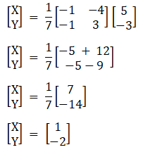 RD Sharma Solutions for Class 12 Maths Chapter 8 Solutions of Simultaneous Linear Equations Image 7