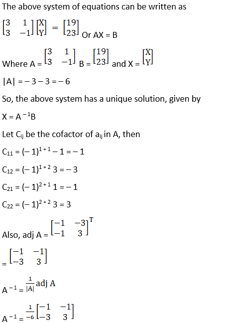 RD Sharma Solutions for Class 12 Maths Chapter 8 Solutions of Simultaneous Linear Equations Image 8