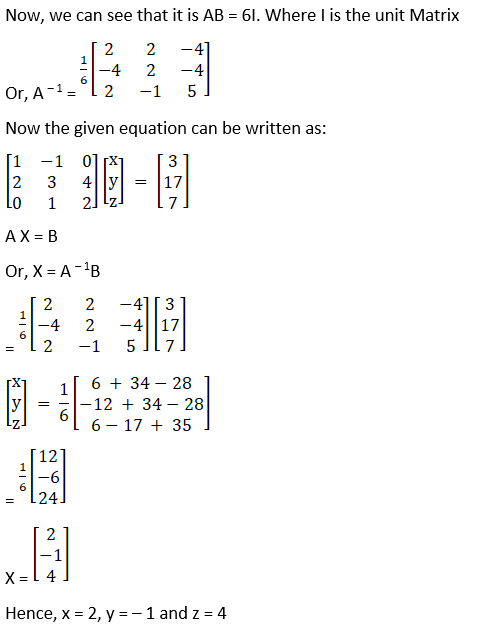 RD Sharma Solutions for Class 12 Maths Chapter 8 Solutions of Simultaneous Linear Equations Image 80