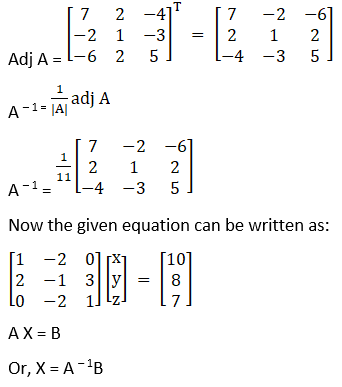 RD Sharma Solutions for Class 12 Maths Chapter 8 Solutions of Simultaneous Linear Equations Image 92
