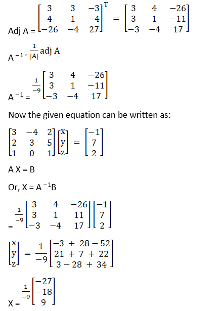 RD Sharma Solutions for Class 12 Maths Chapter 8 Solutions of Simultaneous Linear Equations Image 96