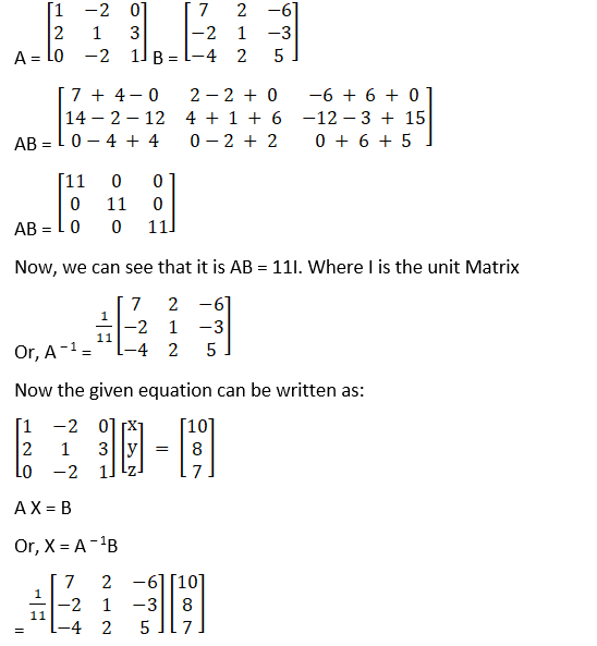 RD Sharma Solutions for Class 12 Maths Chapter 8 Solutions of Simultaneous Linear Equations Image 99