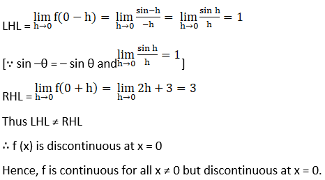 RD Sharma Solutions for Class 12 Maths Chapter 9 Continuity Image 116