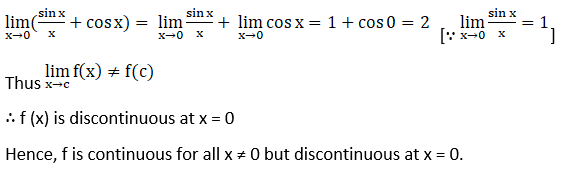 RD Sharma Solutions for Class 12 Maths Chapter 9 Continuity Image 127
