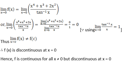 RD Sharma Solutions for Class 12 Maths Chapter 9 Continuity Image 132
