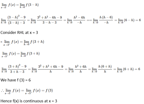 RD Sharma Solutions for Class 12 Maths Chapter 9 Continuity Image 8