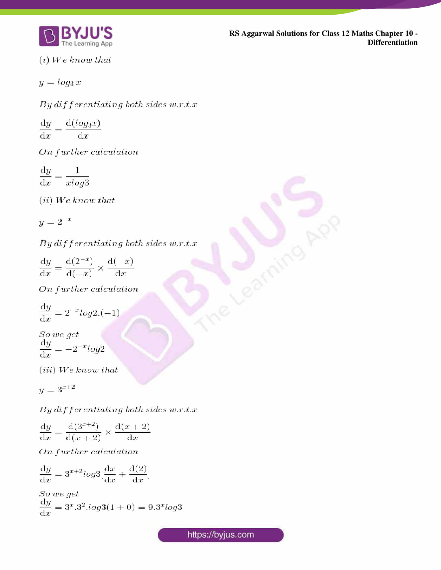 rs aggarwal solution class 12 maths chapter 10 ex b 07