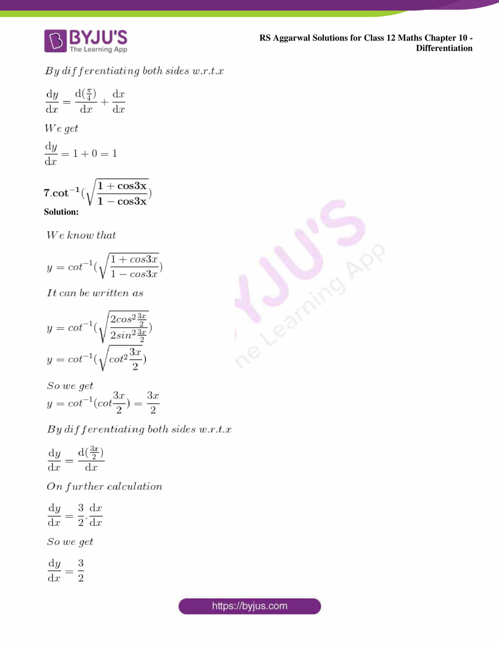 rs aggarwal solution class 12 maths chapter 10 ex d 06
