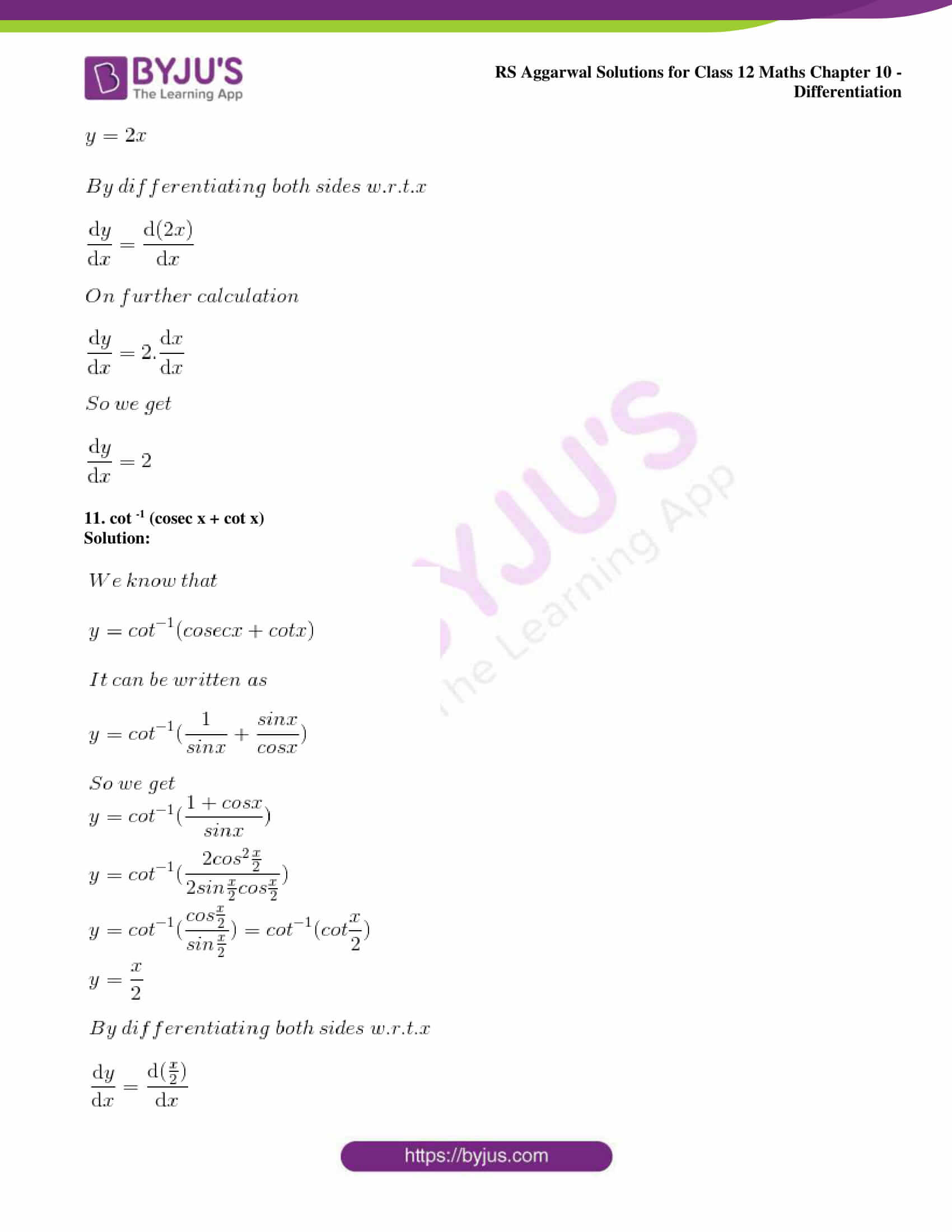 rs aggarwal solution class 12 maths chapter 10 ex d 09
