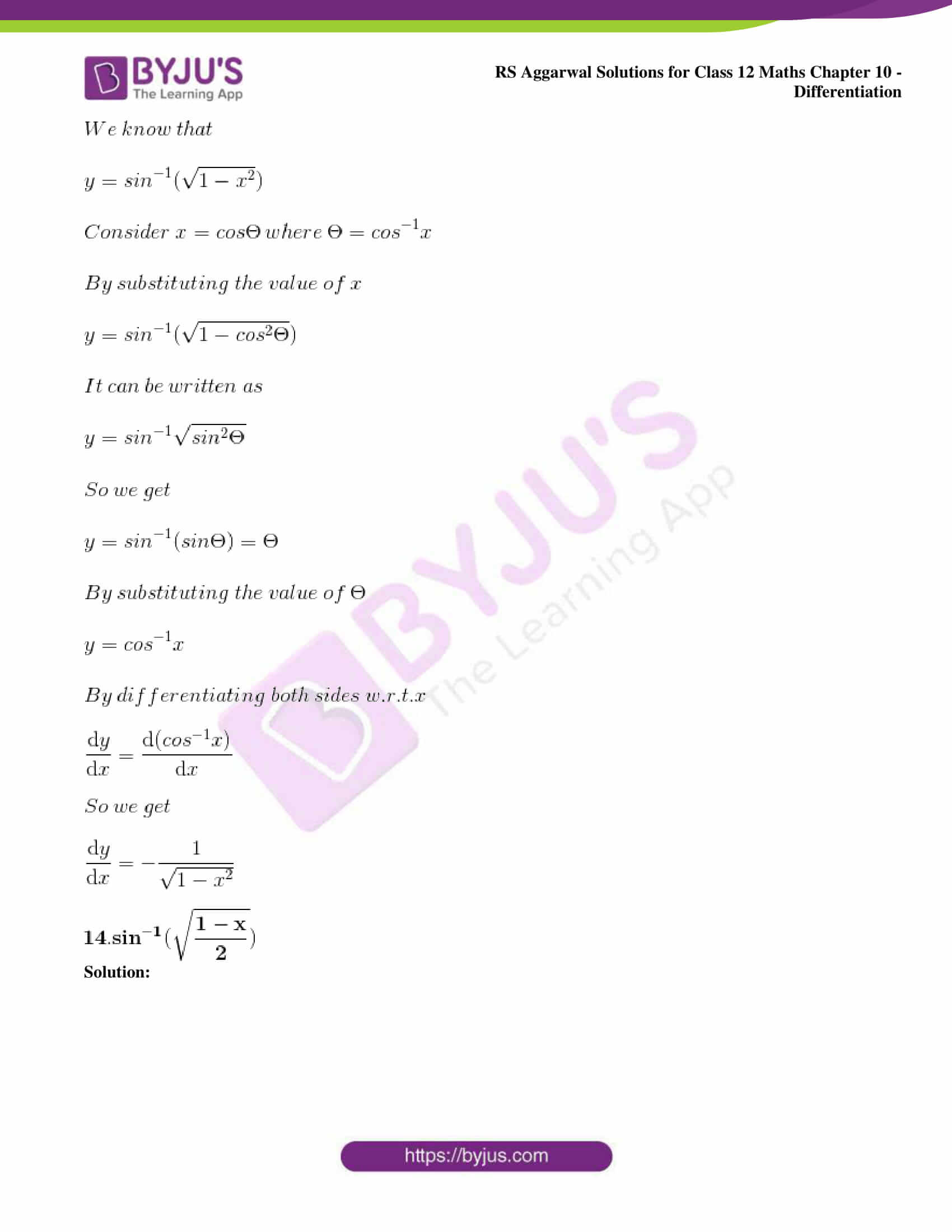 rs aggarwal solution class 12 maths chapter 10 ex d 11