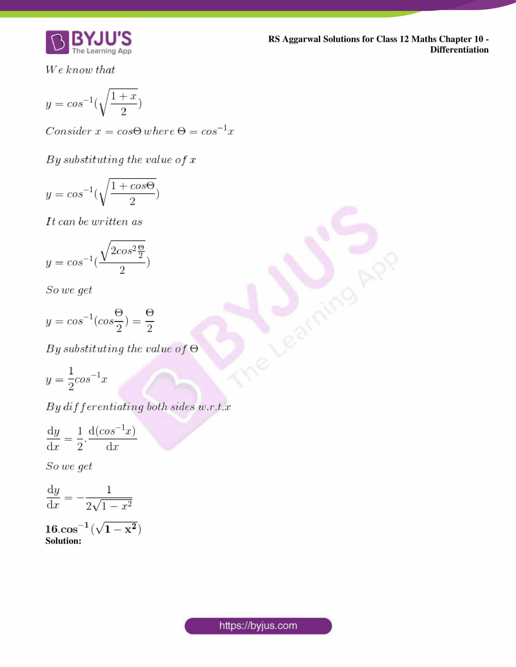 rs aggarwal solution class 12 maths chapter 10 ex d 13