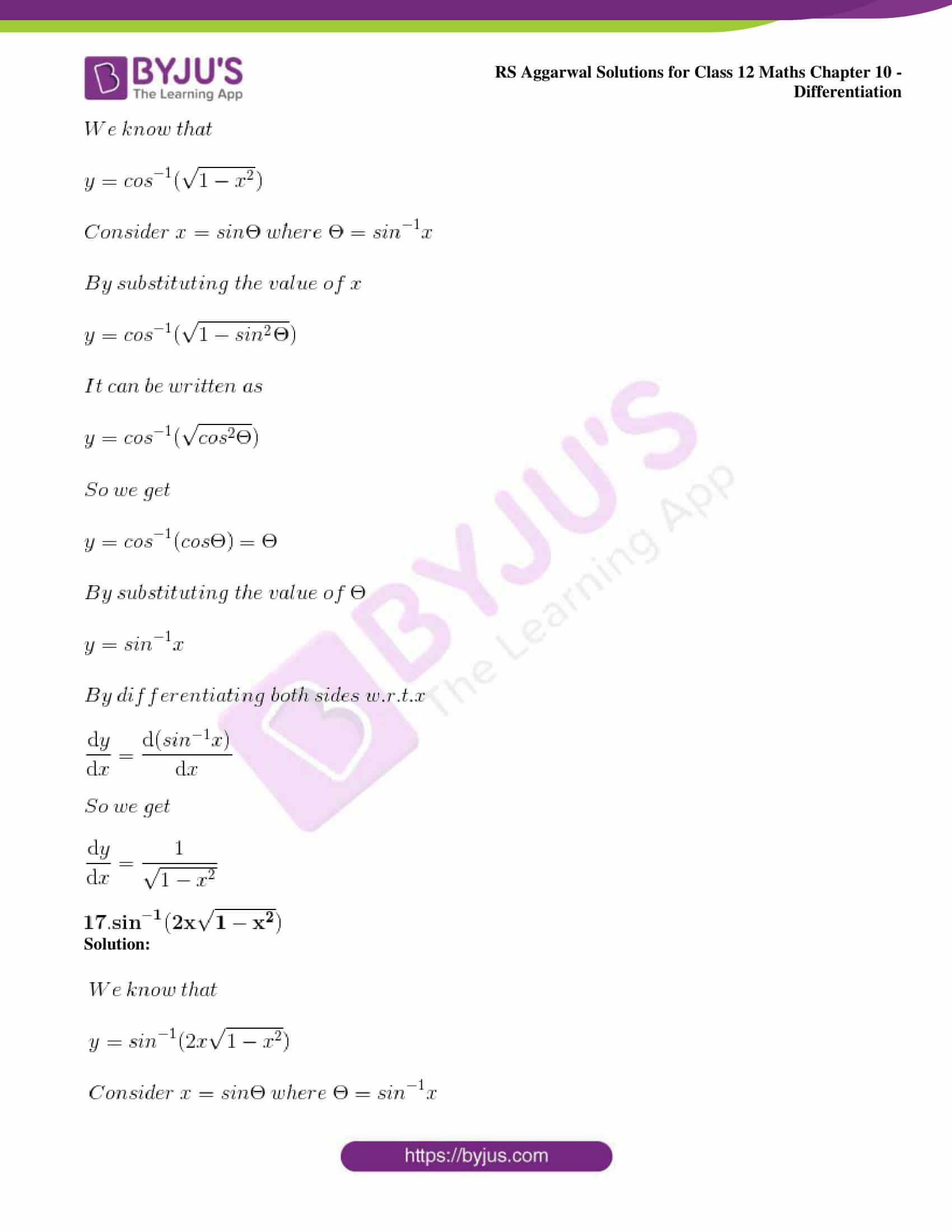 rs aggarwal solution class 12 maths chapter 10 ex d 14