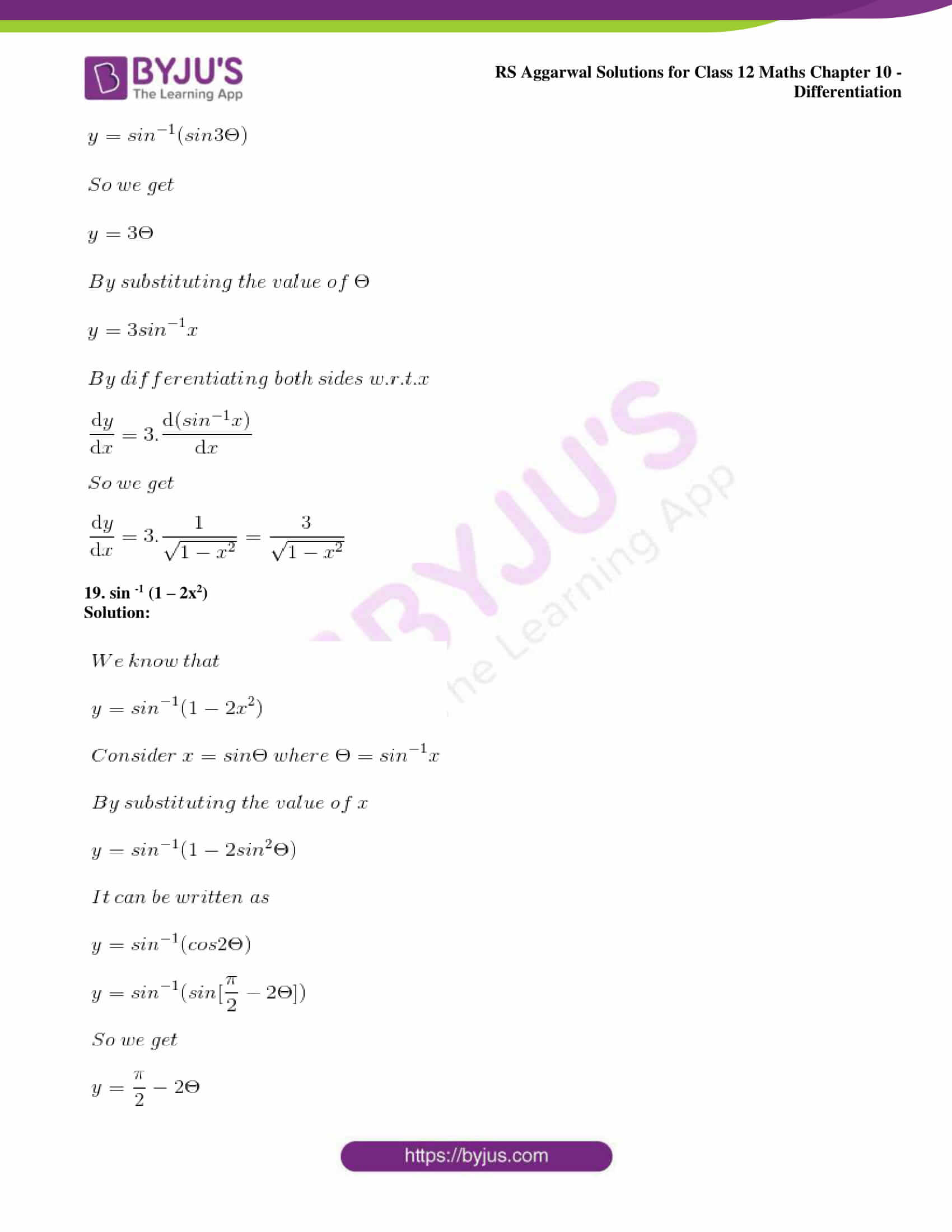 rs aggarwal solution class 12 maths chapter 10 ex d 16
