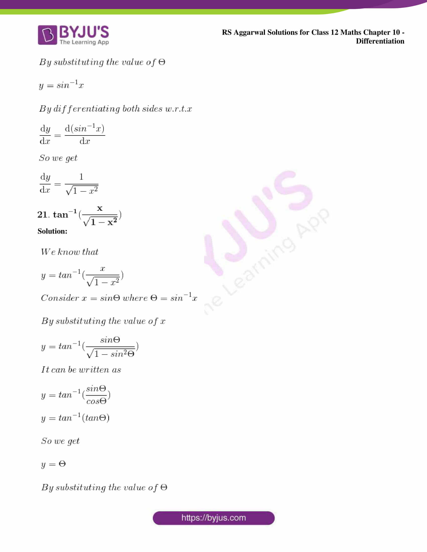 rs aggarwal solution class 12 maths chapter 10 ex d 18