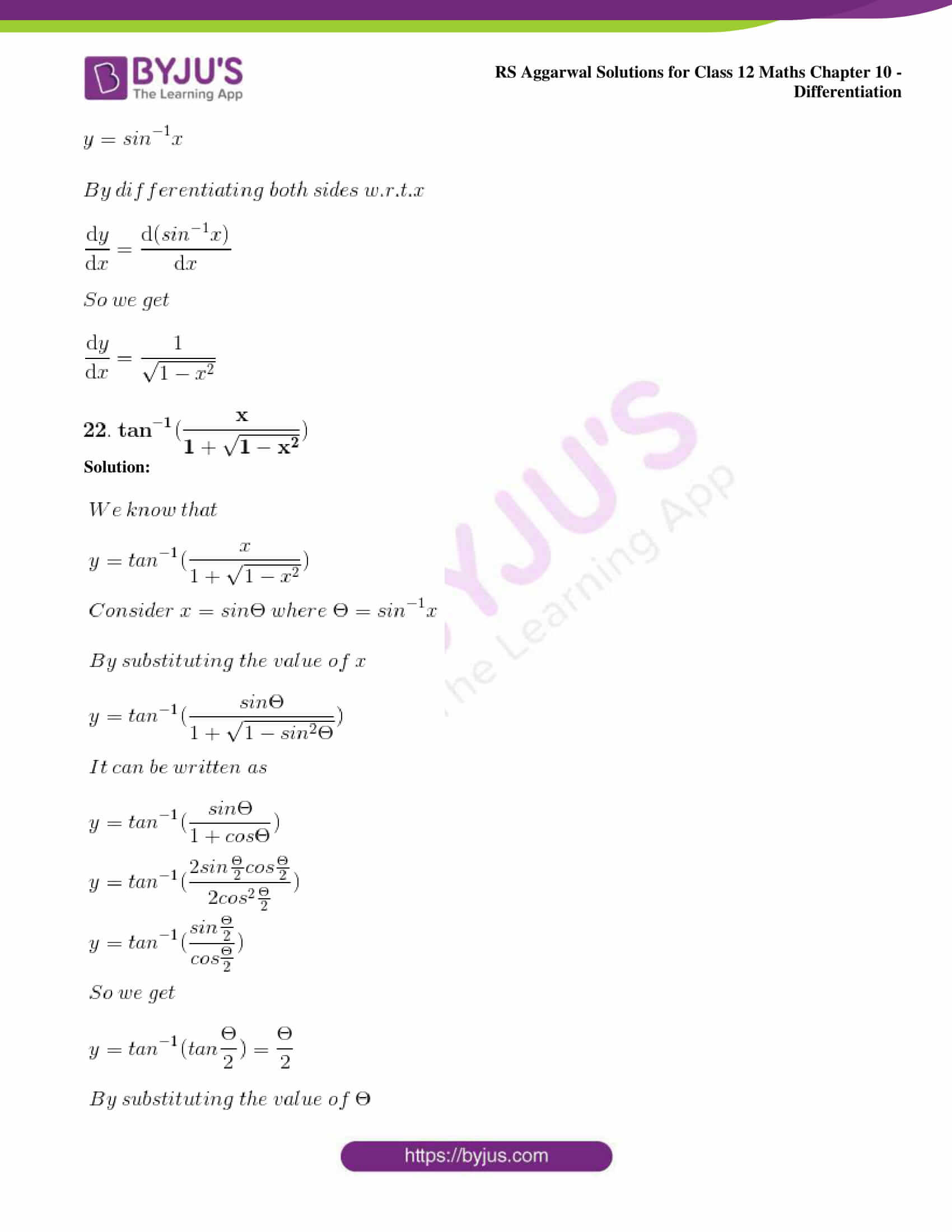 rs aggarwal solution class 12 maths chapter 10 ex d 19