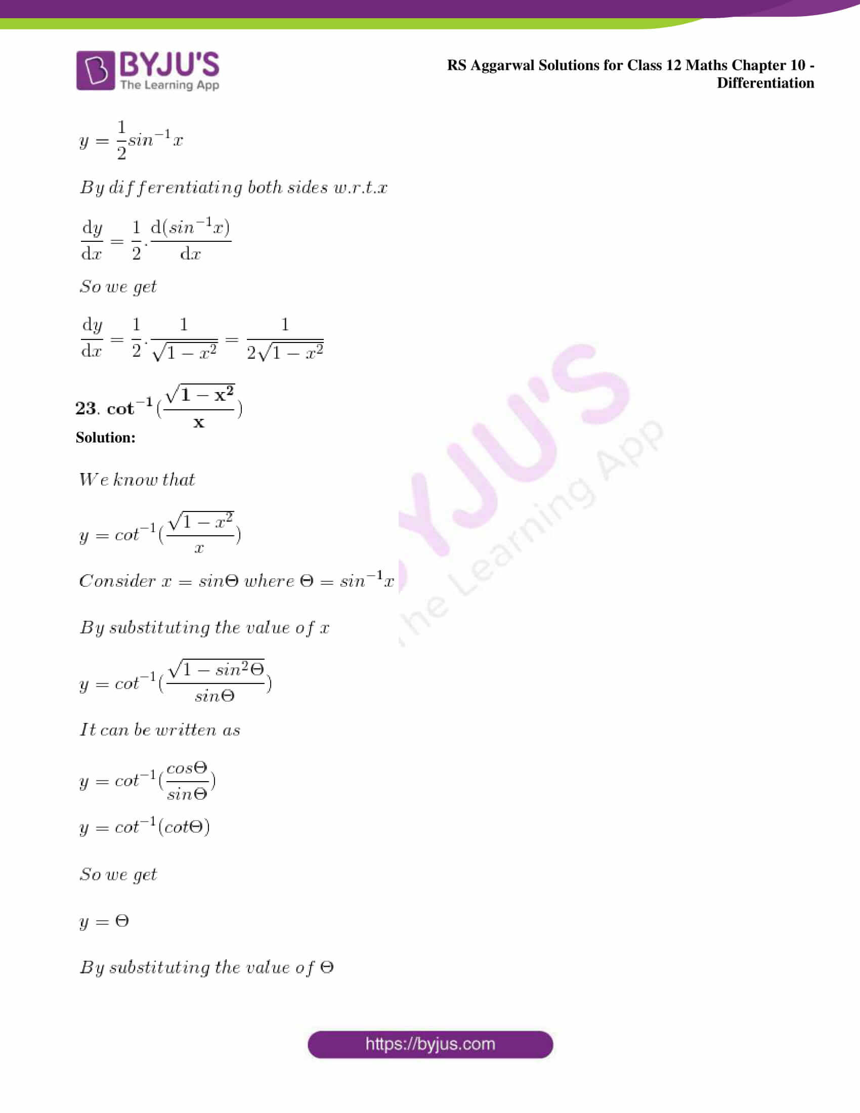 rs aggarwal solution class 12 maths chapter 10 ex d 20