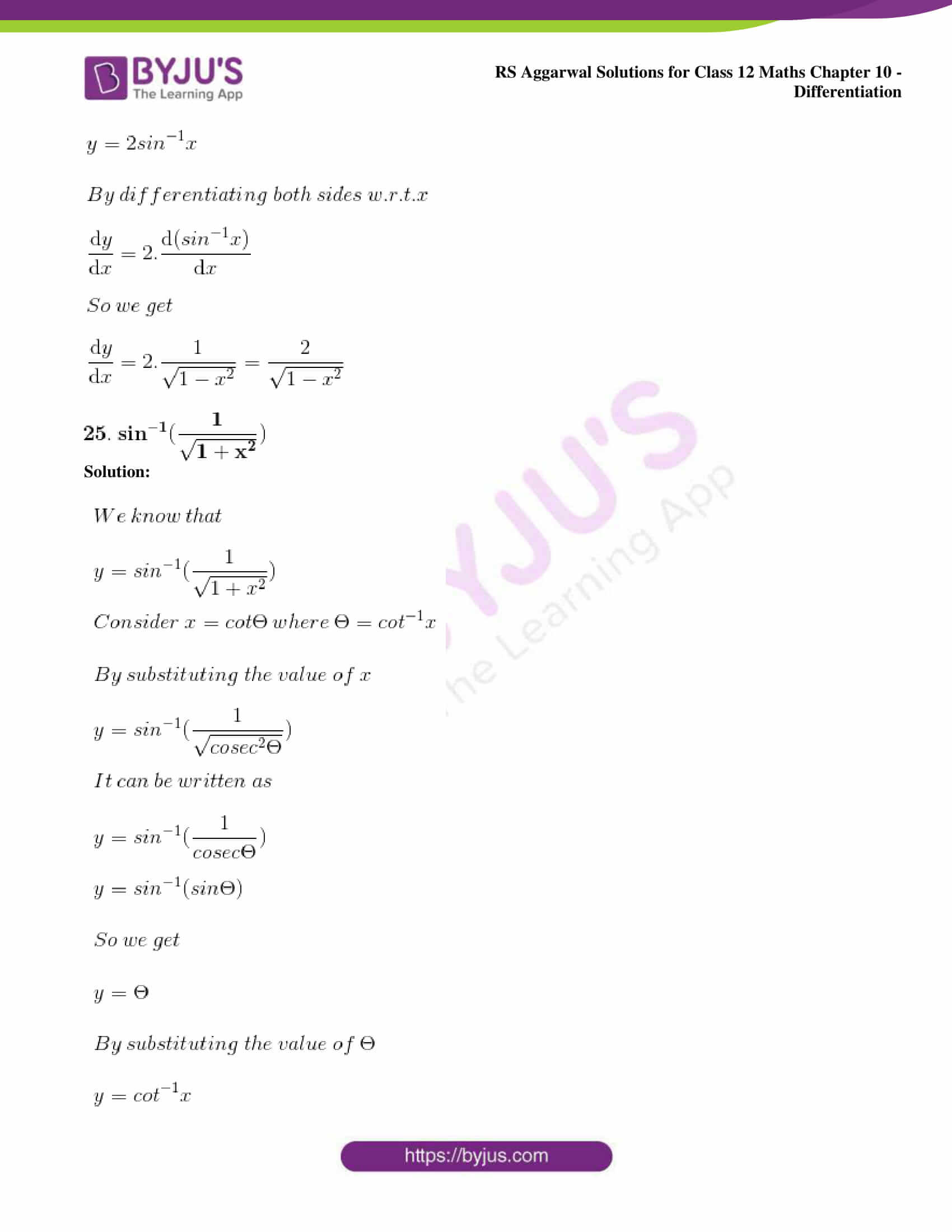 rs aggarwal solution class 12 maths chapter 10 ex d 22