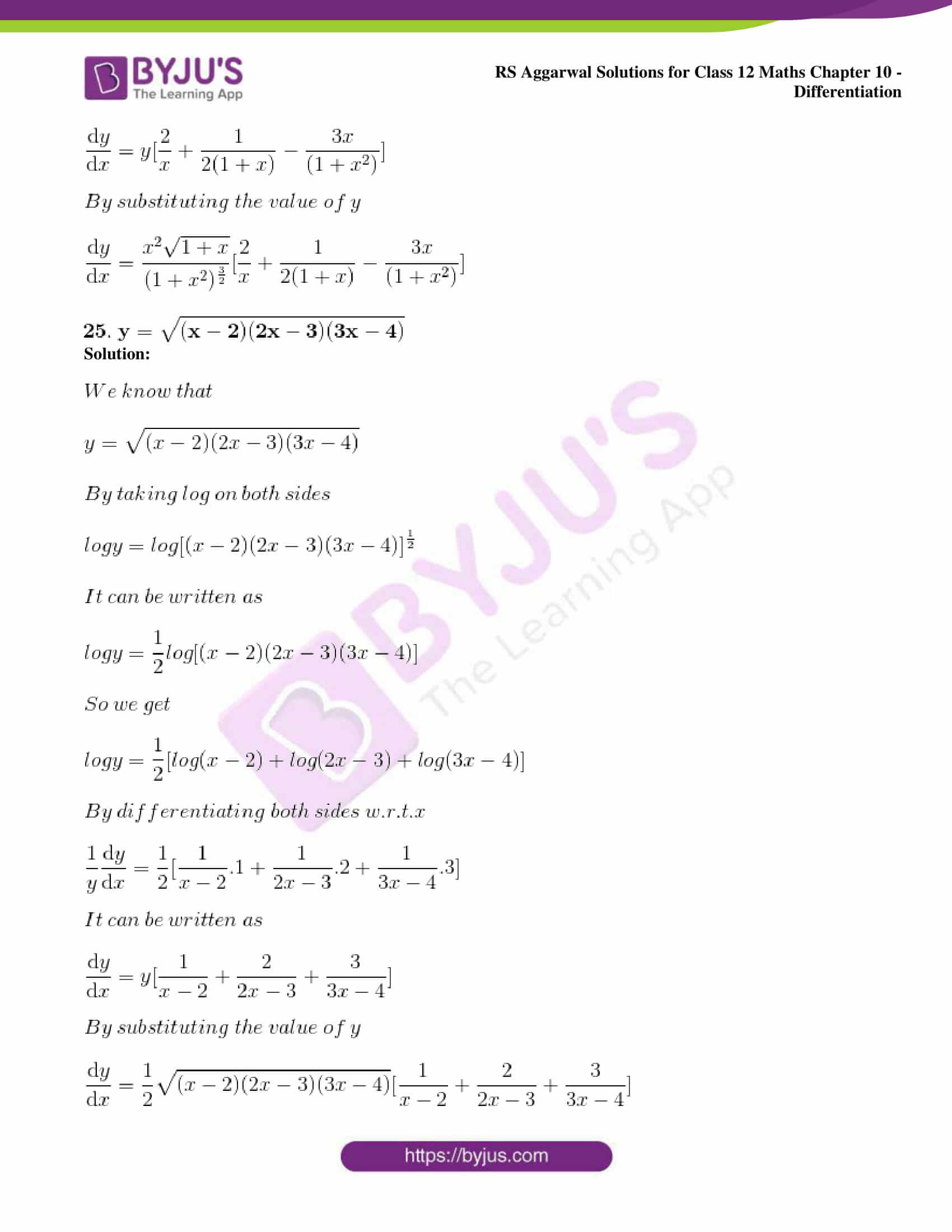 rs aggarwal solution class 12 maths chapter 10 ex f 23