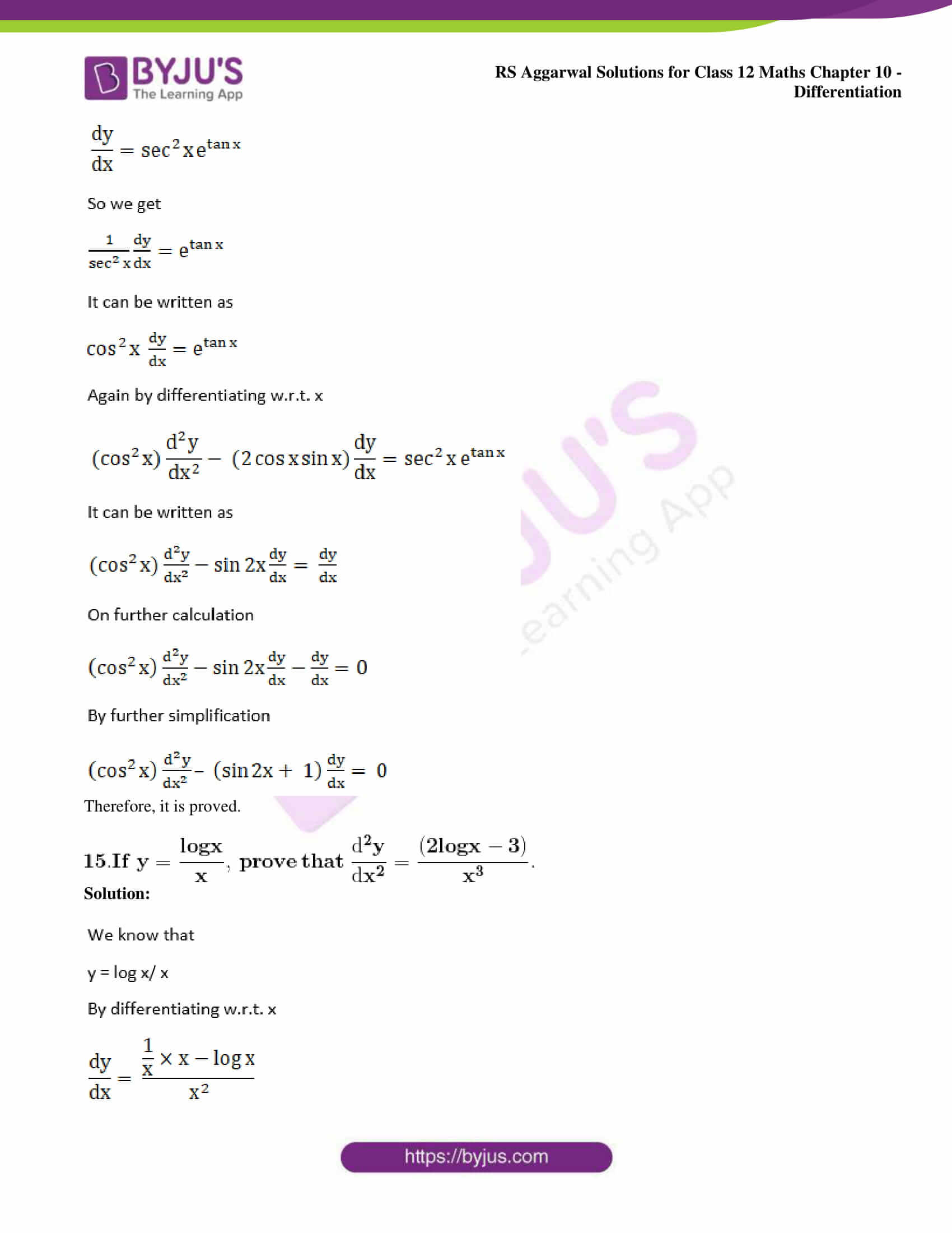 rs aggarwal solution class 12 maths chapter 10 ex j 11