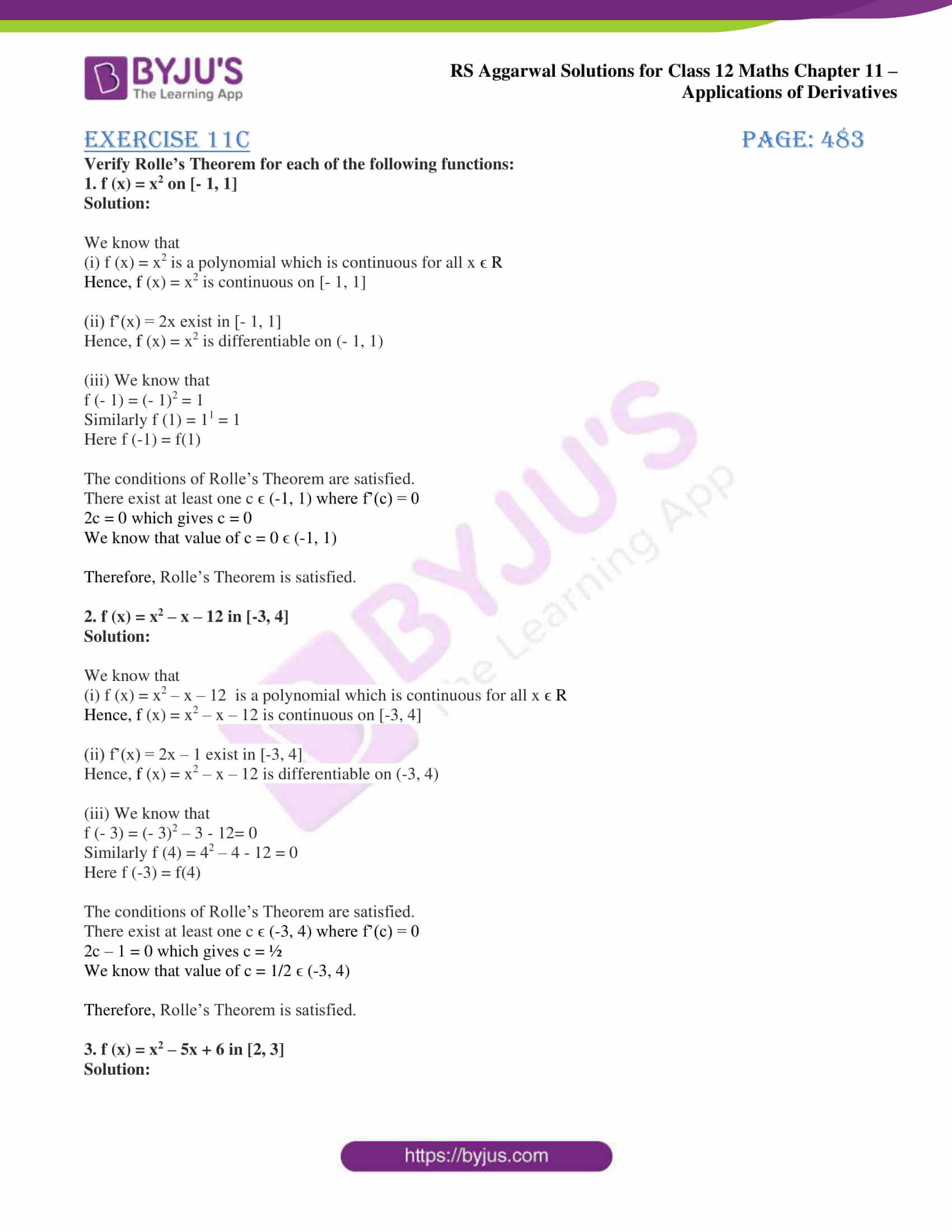 rs aggarwal solution class 12 maths chapter 11 ex c 1