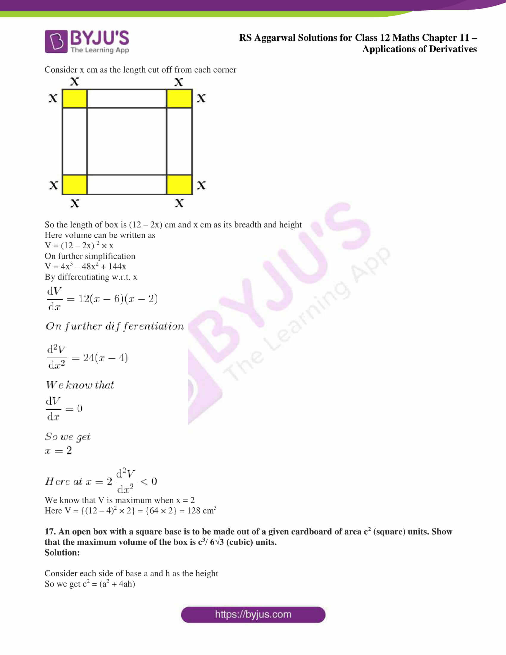 rs aggarwal solution class 12 maths chapter 11 ex f 15
