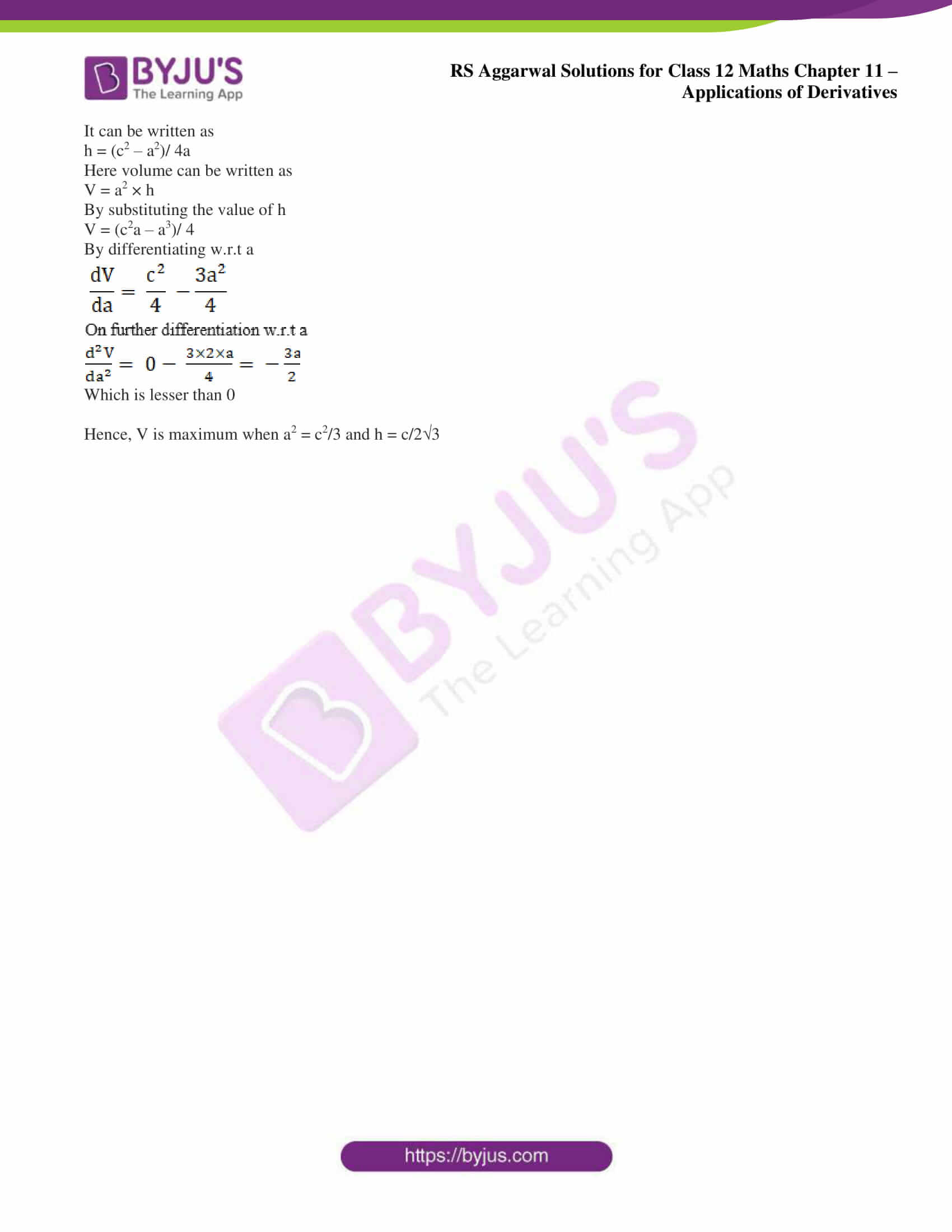 rs aggarwal solution class 12 maths chapter 11 ex f 16
