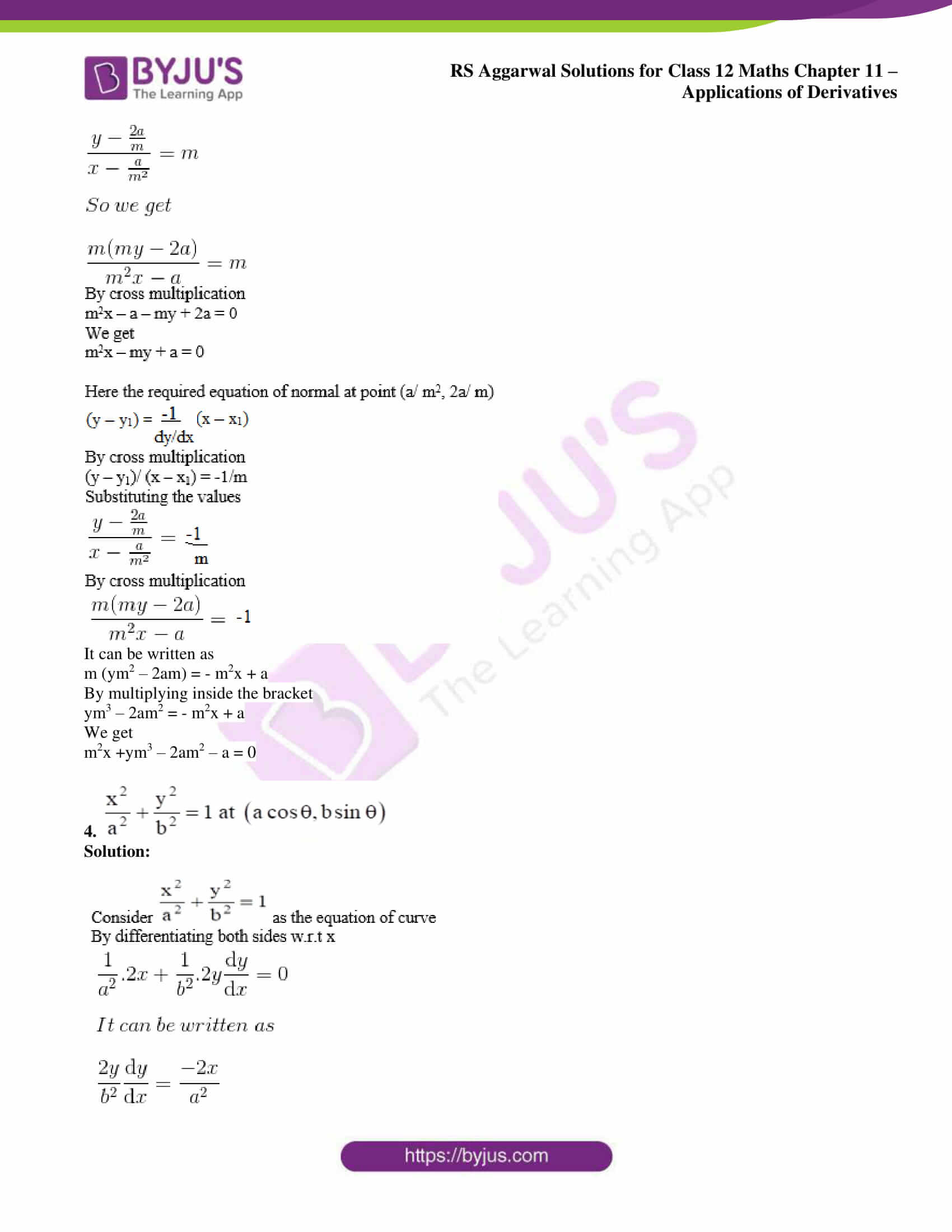 rs aggarwal solution class 12 maths chapter 11 ex h 03