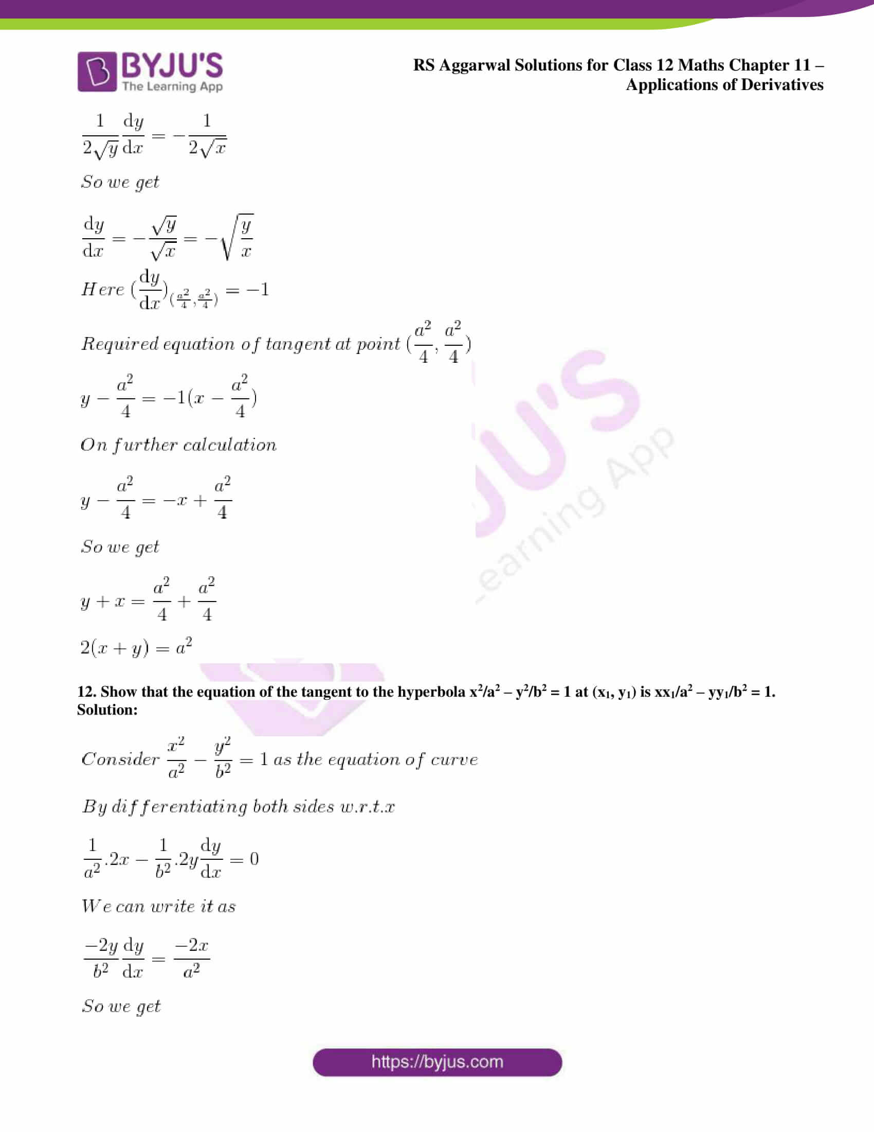 rs aggarwal solution class 12 maths chapter 11 ex h 09