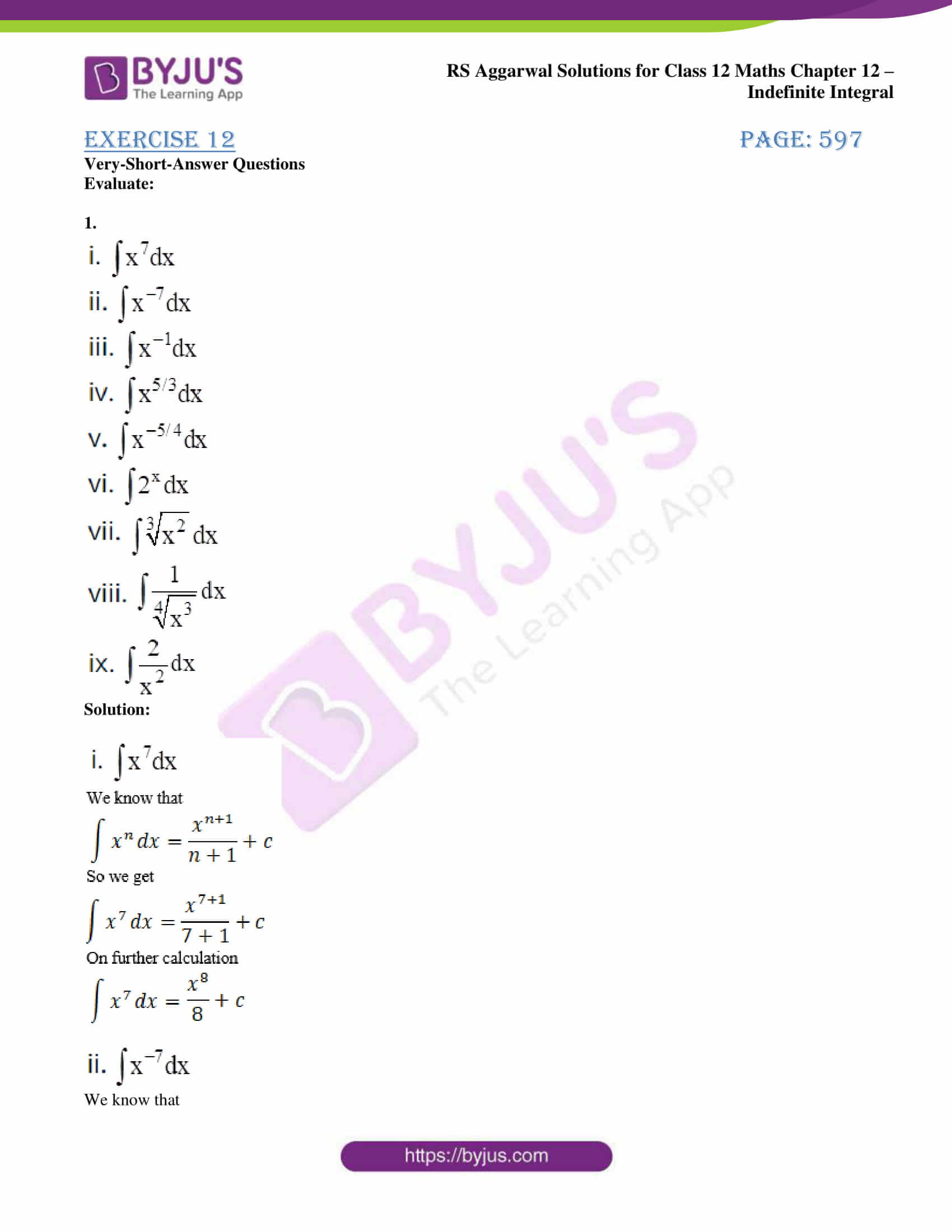 rs aggarwal solution class 12 maths chapter 12 01
